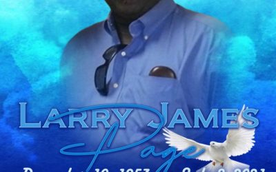 Larry James Page 1953 – 2021